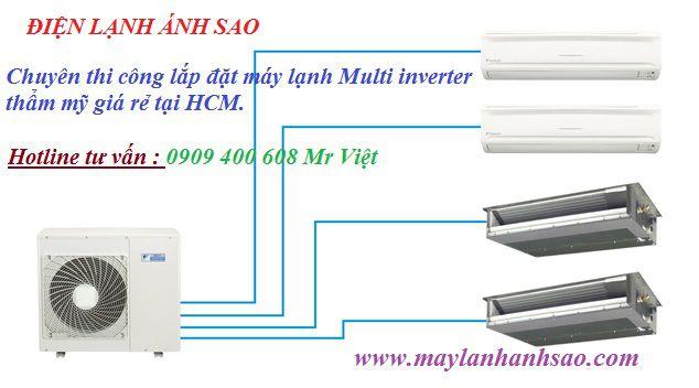 Cung cấp giá rẻ Dàn lạnh Multi Daikin - Đại lý máy lạnh chính hãng giá rẻ