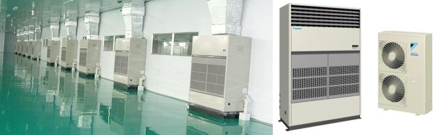 Lắp đặt máy lạnh công nghiệp cho nhà máy tại Quận 2