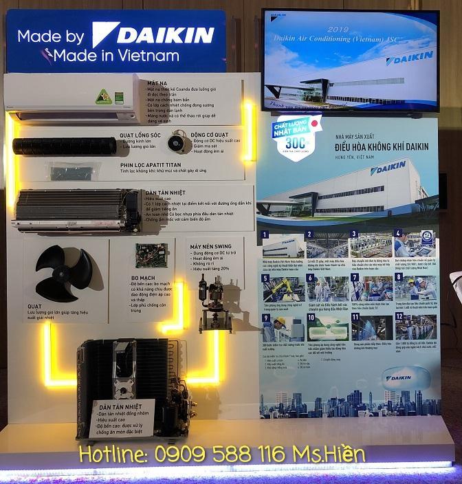 Máy lạnh treo tường Daikin Inverter FTKA - Hàng Việt Nam - Giá tốt