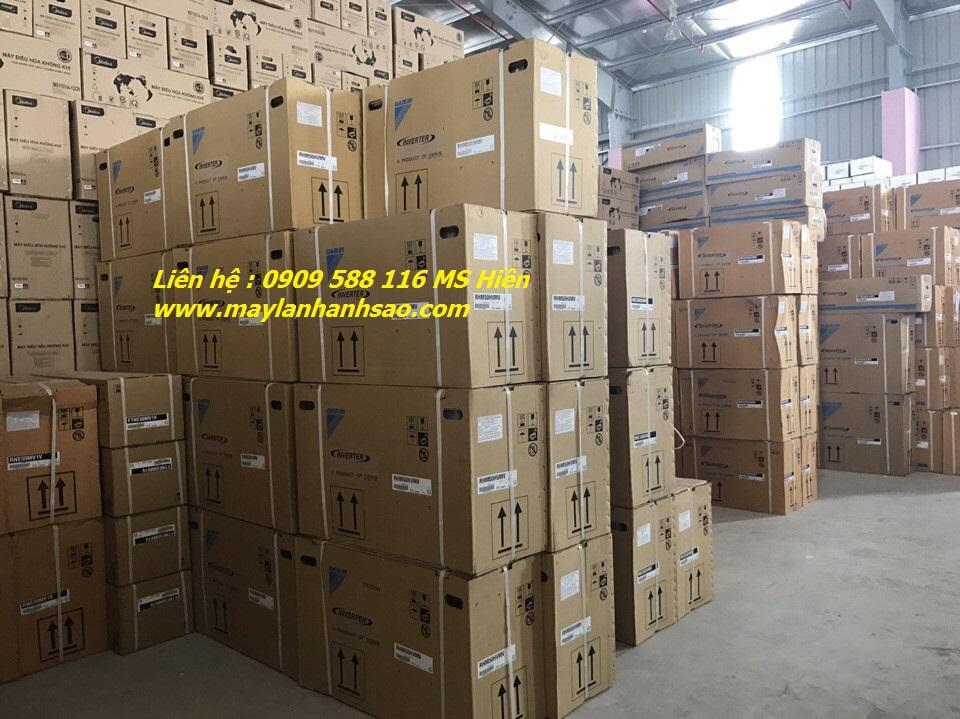 Ánh Sao nhận thi công máy lạnh áp trần Daikin trọn gói giá rẻ - Khảo sát lắp đặt toàn quốc