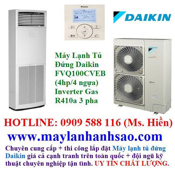 Máy lạnh tủ đứng Daikin FVQ100CVEB - Máy Lạnh Daikin - 220571