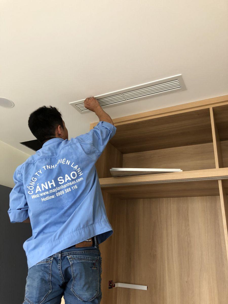 Đơn vị thi công máy lạnh giấu trần thương mại Daikin – Miễn phí thiết kế toàn quốc 1