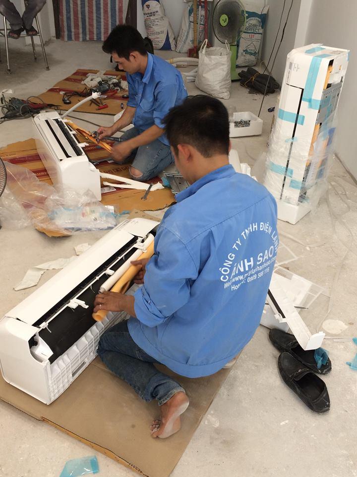 Bán máy lạnh hệ thống Multi Mitsu – Lắp đặt nhanh giá rẻ tại Ánh Sao
