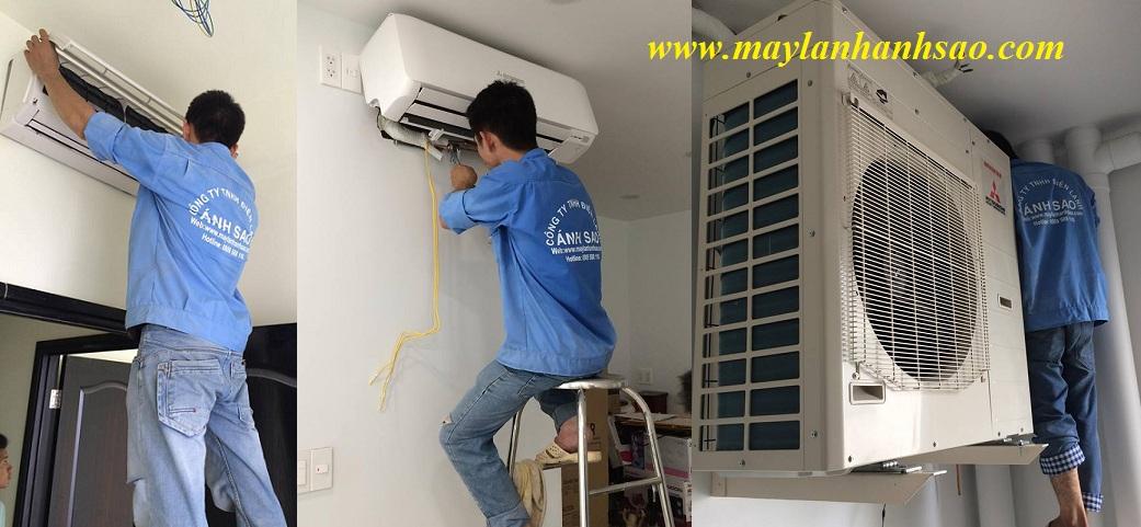 Máy lạnh treo tường Mitsubishi Heavy Inverter Lắp đặt máy lạnh chuyên nghiệp giá rẻ