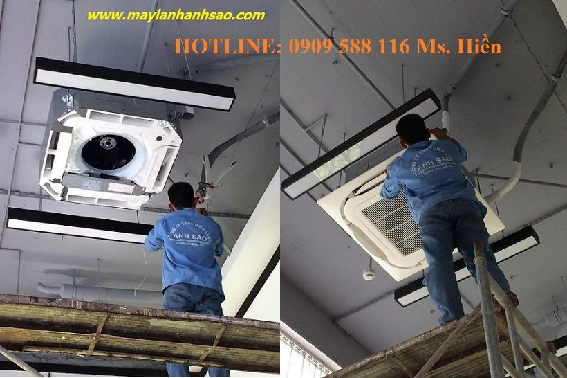 Đơn vị cung cấp máy lạnh âm trần Panasonic CU/CS-PC24DB4H (2.5hp) – Thi cong lap dat may lanh gia re - 231399