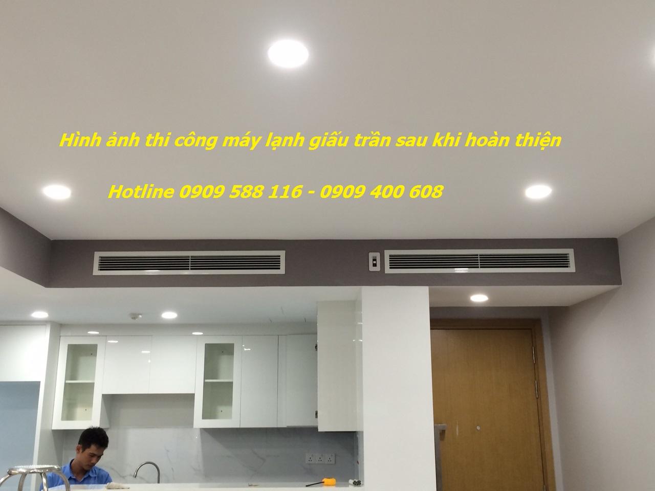 Ánh Sao chuyên khảo sát thi công máy lạnh giấu trần cho căn hộ cao cấp