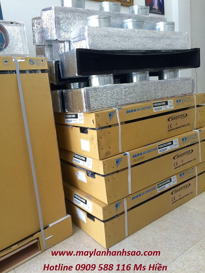 Máy lạnh giấu trần Daikin chính hãng– Mua hàng và lắp đặt giá sỉ tại Ánh Sao