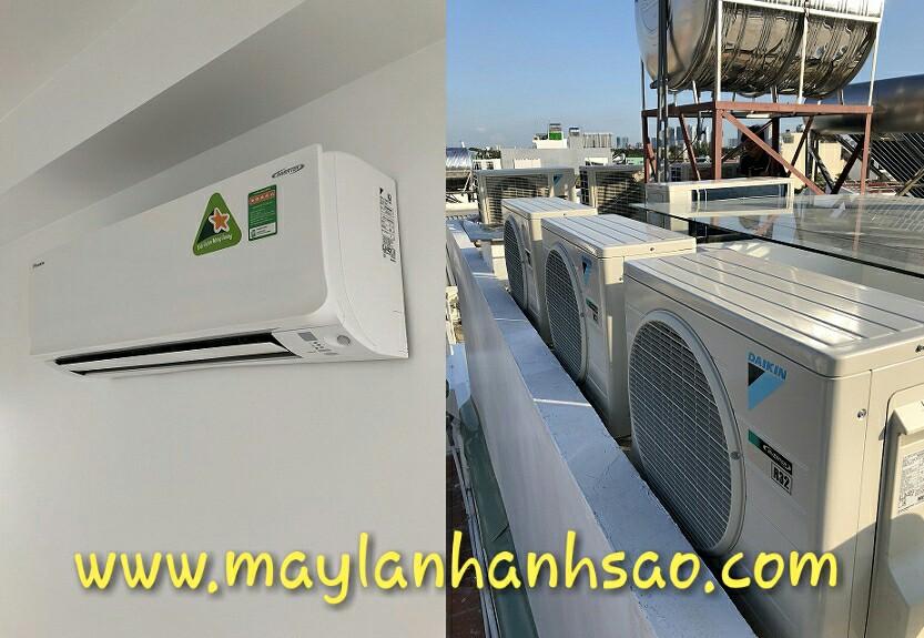 Máy lạnh Daikin Multi S Inverter - Máy Lạnh Ánh Sao