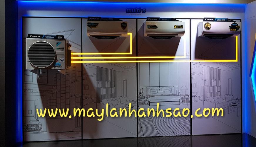 Sản phẩm: Dàn lạnh treo tường Daikin Multi S chính hãng giá tốt
