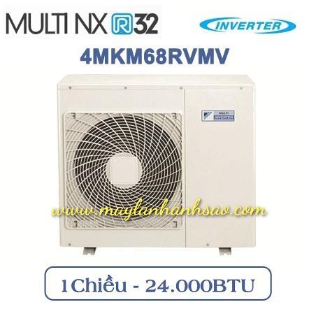 Dàn nóng máy lạnh Multi Daikin 4MKM68RVMV - Inverter Gas R32