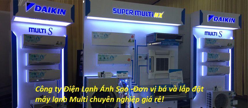 Tiết kiệm chi phí khi sử dụng hệ thống Multi Daikin giàn lạnh âm trần chính hãng giá sỉ