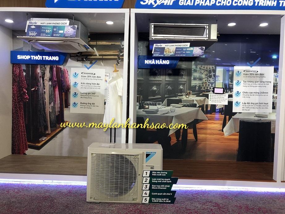 Khảo sát + Lắp đặt máy lạnh chuyên nghiệp, chất lượng cao