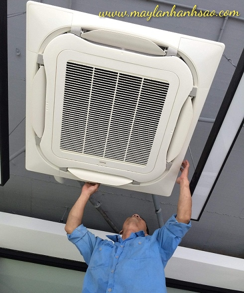 Máy lạnh âm trần Daikin FCF71CVM Inverter 3hp - Đại lý Daikin tại tphcm - 270035