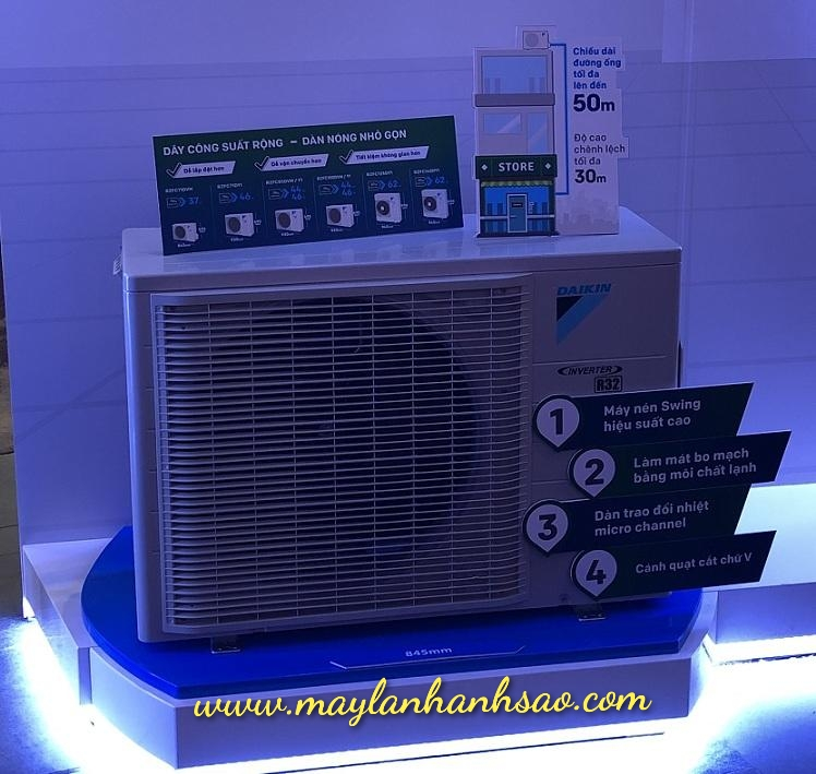 Máy lạnh âm trần Daikin FCFC85DVM - 3.5h Inverter Gas R32 chính hãng - 277009