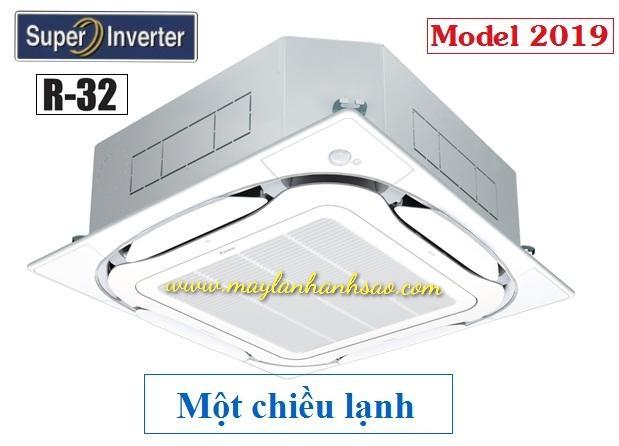 Máy lạnh âm trần cassette Daikin FCFC60DVM/RZFC60DVM - 3hp Inverter - R32