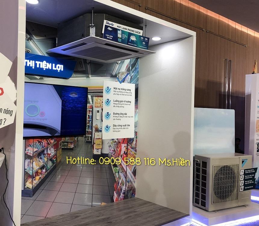 Máy lạnh âm trần Daikin FCRN - Hàng nhập Malaysia