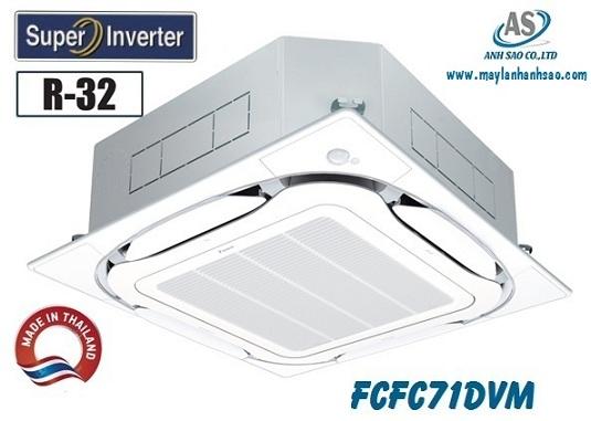 Máy lạnh âm trần FCFC71DVM 3hp - Thương hiệu Daikin chính hãng