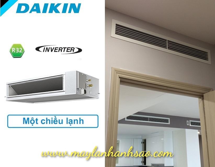 Máy lạnh giấu trần Daikin FDF Inverter Gas R32 - Hàng chính hãng - 275368