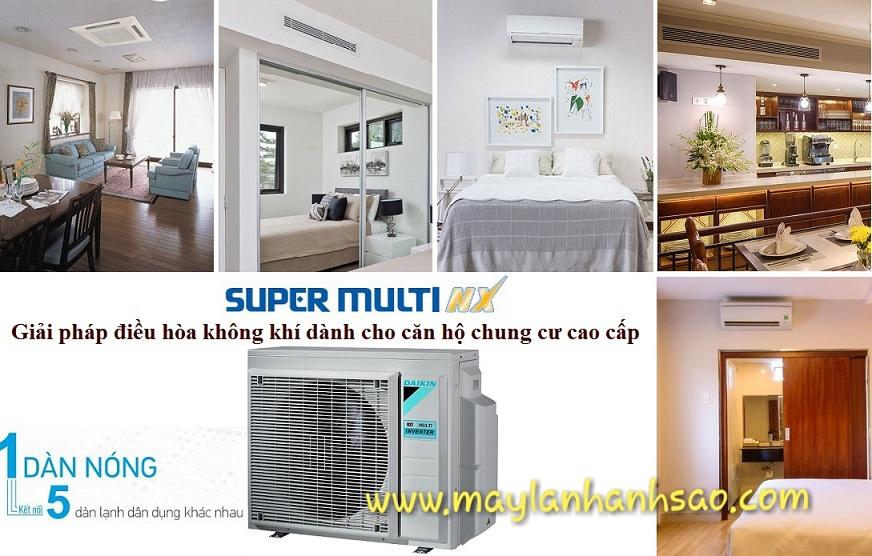 Hệ thống Multi NX của hãng Daikin - Máy Lạnh Ánh Sao - 257861