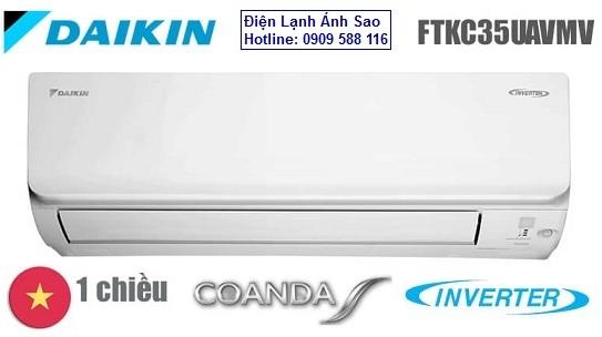 Máy lạnh treo tường Daikin Inverter FTKC35UAVMV - Công suất 1.5hp Inverter