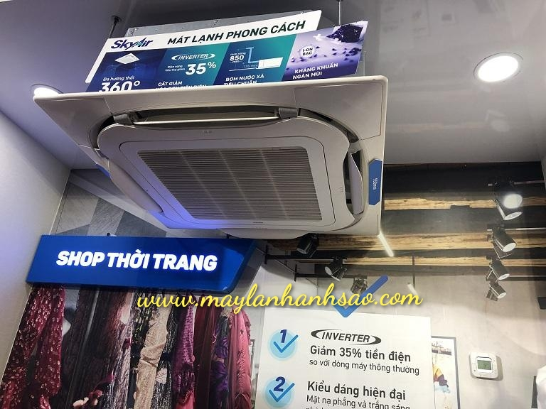 Lắp đặt máy lạnh giá rẻ - Máy lạnh âm trần Daikin FCFC