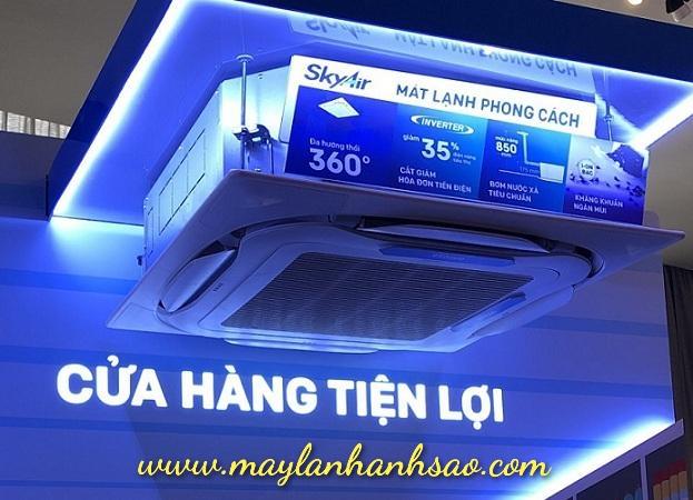 Lắp đặt máy lạnh âm trần Daikin (model FCFC) giá rẻ, chuyên nghiệp