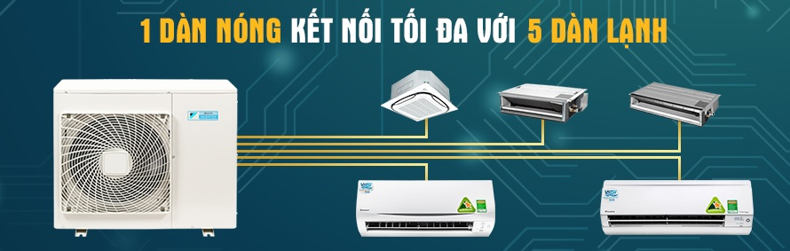 Máy lạnh Multi Daikin Inverter - Uy tín chất lượng - Giá rẻ
