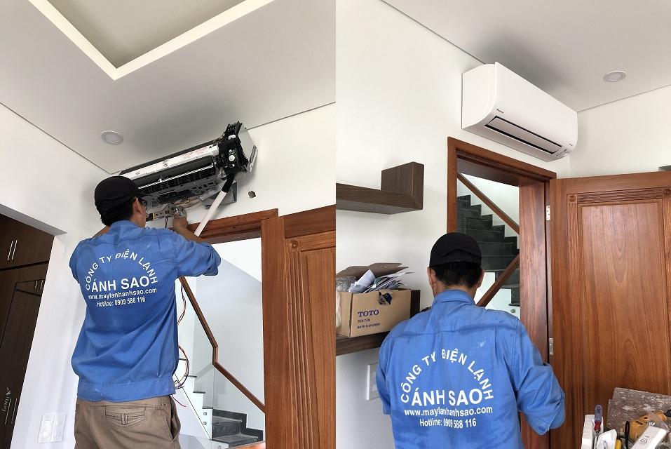 Phân phối và lắp đặt máy lạnh treo tường Daikin chuyên nghiệp, chất lượng