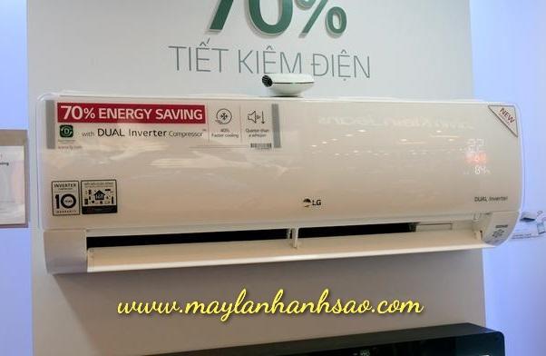 Điều hòa treo tường LG Inverter giá rẻ cạnh tranh nhất TPHCM
