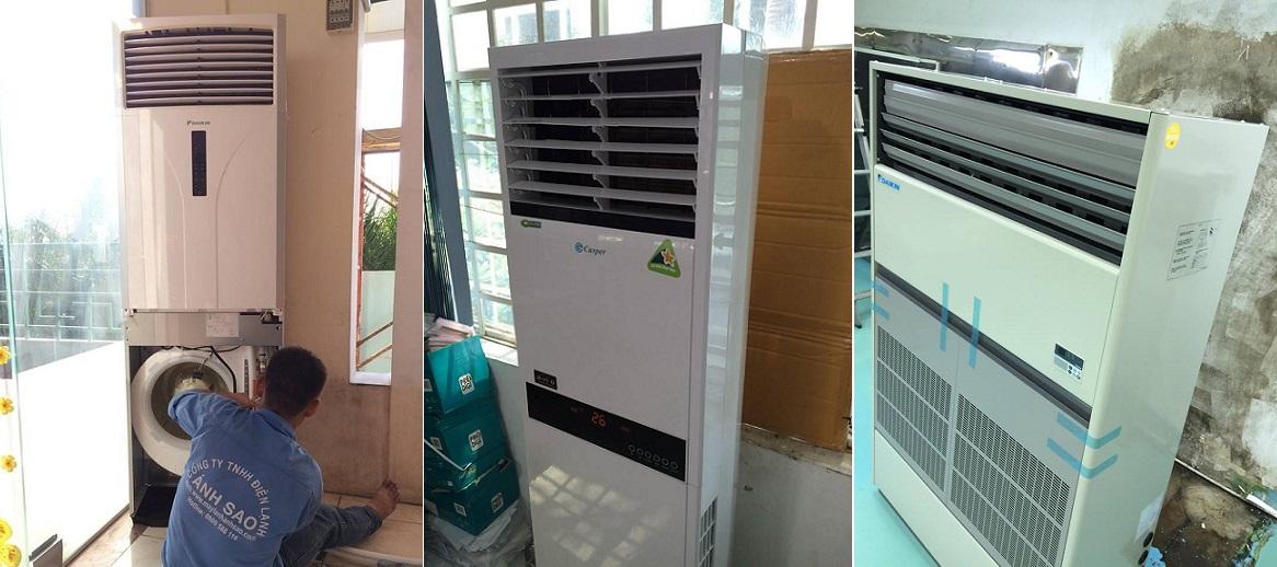 Máy lạnh tủ đứng Daikin, LG, Gree, Midea, LG giá rẻ
