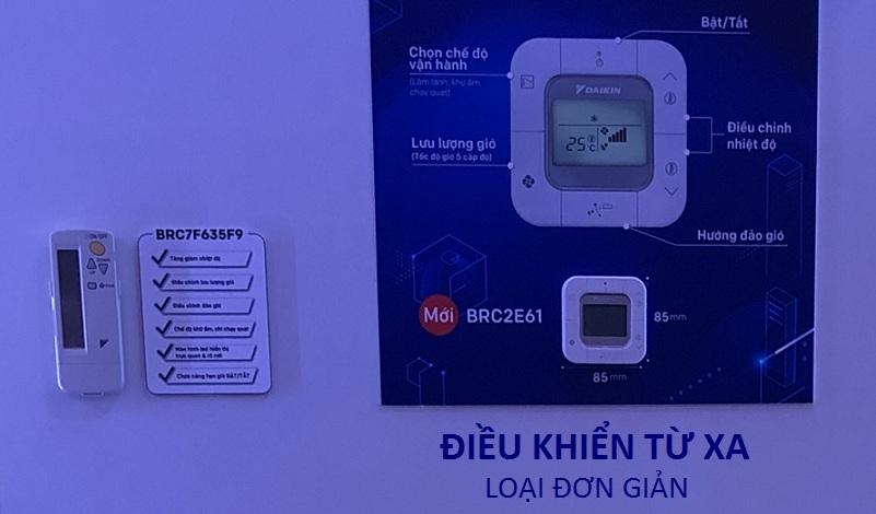 Máy lạnh âm trần Daikin FCFC85DVM - 3.5h Inverter Gas R32 chính hãng - 277010