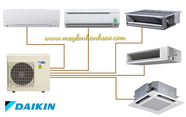 Hệ thống máy lạnh Multi Daikin giá cực ưu đãi khi mua số lượng lớn - 279201