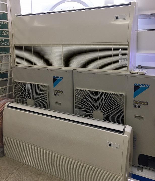 Thanh lý máy lạnh áp trần Daikin - Inverter 4HP - Mới 95%