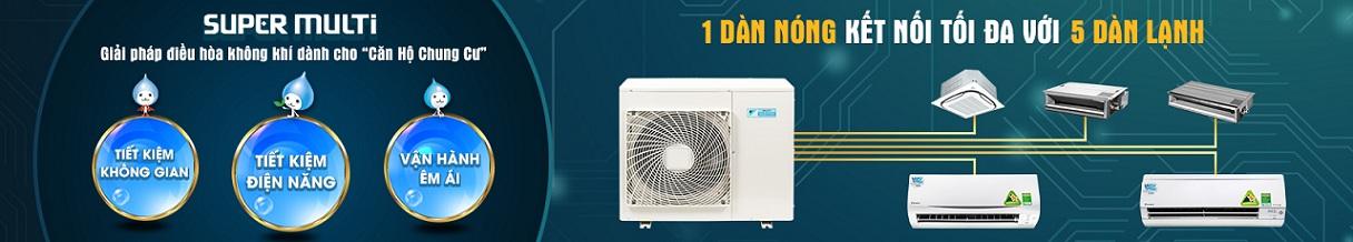 Thi công lắp đặt máy lạnh Multi Daikin chính hãng giá rẻ