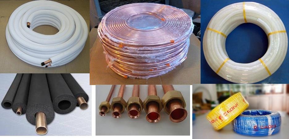Thi công ống đồng máy lạnh chuyên nghiệp - Ống đồng Thái Lan chính hãng
